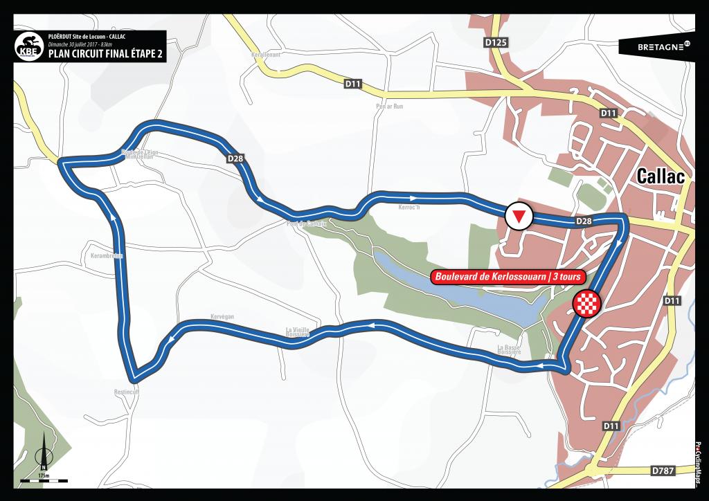 KBE2017 - Plan arrivée circuit final E2 - Callac