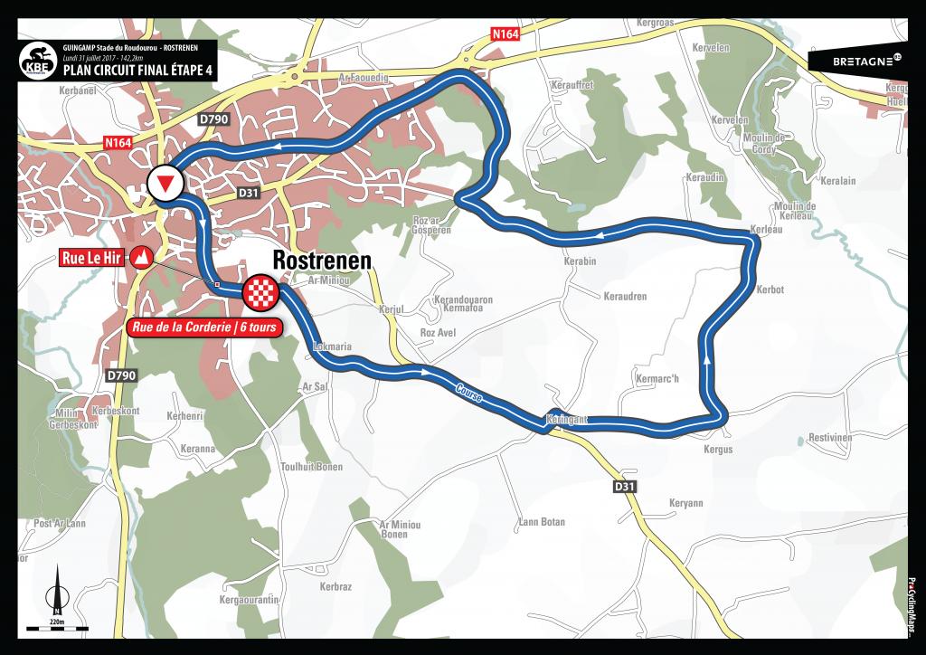 KBE2017 - Plan arrivée circuit final E4 - Rostrenen V2