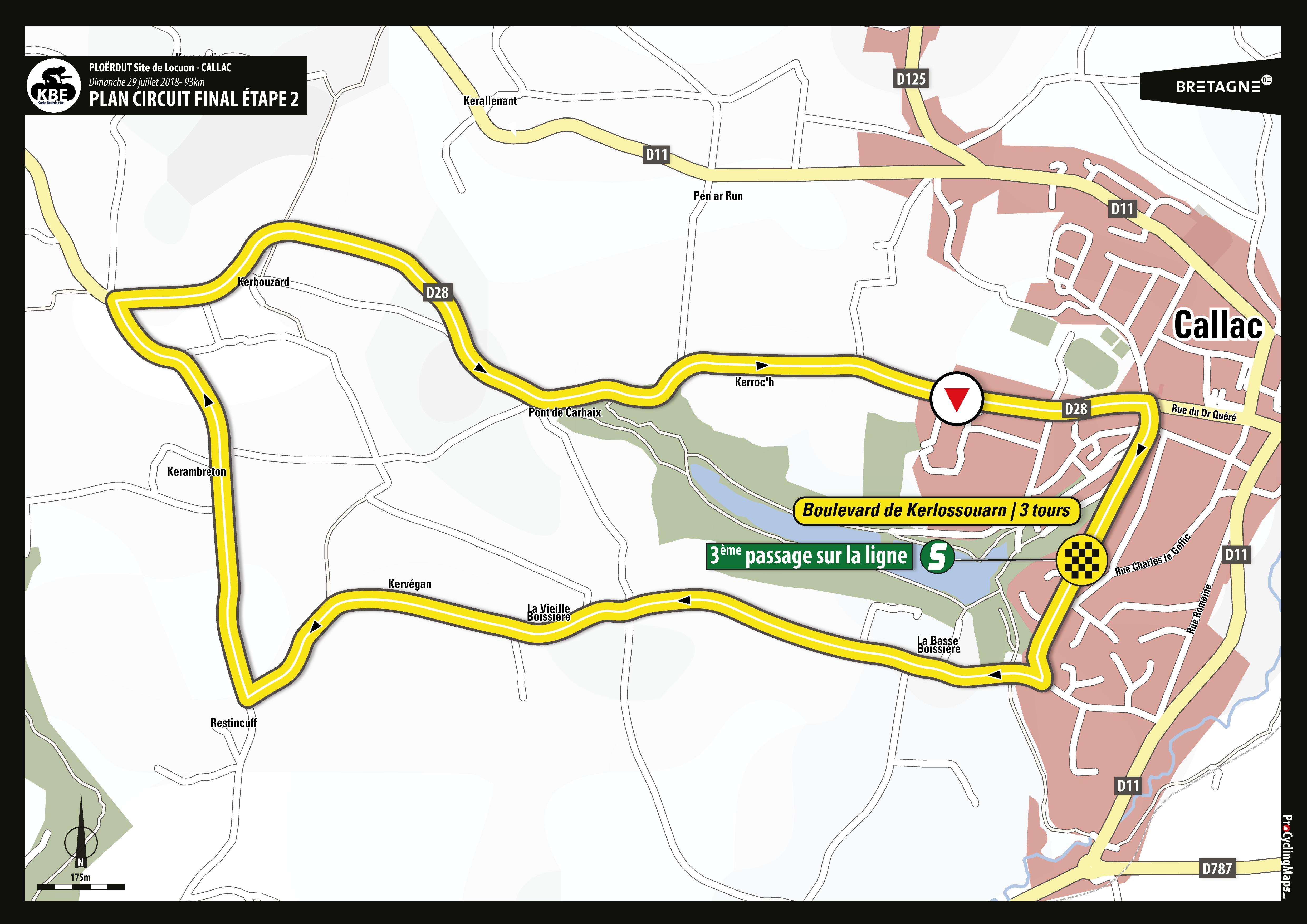 KBE2018 - Plan arrivée circuit final E2 - Callac
